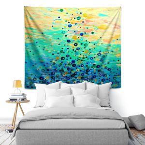 Artistic Wall Tapestry | Julia DiSano What Goes Up VI