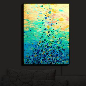 Nightlight Sconce Canvas Light   Julia Di Sano - What Goes Up VI