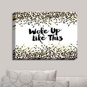 Decorative Canvas Wall Art | Julia Di Sano - Woke Up Like This | Abstract Painting