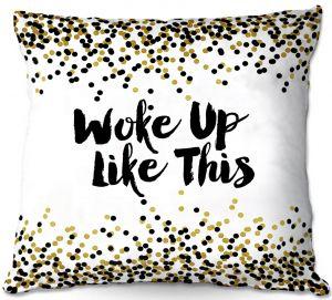Throw Pillows Decorative Artistic | Julia Di Sano - Woke Up Like This