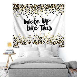 Artistic Wall Tapestry | Julia Di Sano - Woke Up Like This