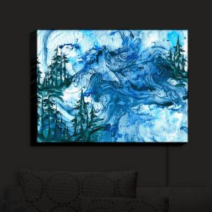 Nightlight Sconce Canvas Light | Julia Di Sano - Worth Having Blue