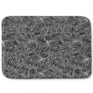 Decorative Bathroom Mats | Julia Grifol - Black Shapes