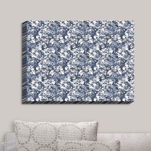 Decorative Canvas Wall Art | Julia Grifol - Blue Butterflies I