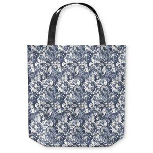 Unique Shoulder Bag Tote Bags | Julia Grifol Blue Butterflies