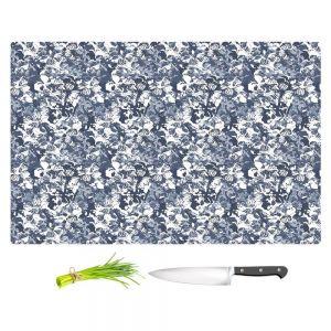 Artistic Kitchen Bar Cutting Boards | Julia Grifol - Blue Butterflies