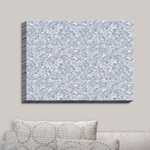 Decorative Canvas Wall Art   Julia Grifol - Blue Flowers I