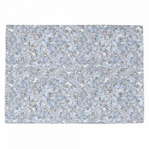 Decorative Kitchen Placemats 18x13 from DiaNoche Designs by Julia Grifol - Blue Flowers