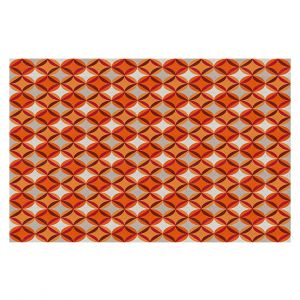 Decorative Floor Coverings | Julia Grifol - Circles Red