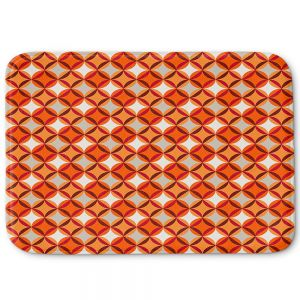 Decorative Bathroom Mats | Julia Grifol - Circles Red