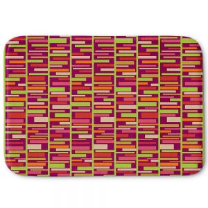 Decorative Bathroom Mats | Julia Grifol - Colourful Rectangles