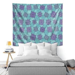 Artistic Wall Tapestry | Julia Grifol Deco Flowers