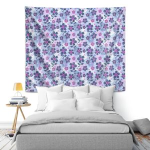 Artistic Wall Tapestry | Julia Grifol Flowers Mix