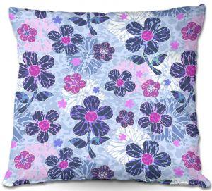 Throw Pillows Decorative Artistic | Julia Grifol Flowers Mix II