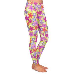 Casual Comfortable Leggings | Julia Grifol Happy Garden