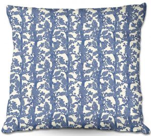 Decorative Outdoor Patio Pillow Cushion | Julia Grifol - Romantic Tree I