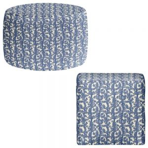 Round and Square Ottoman Foot Stools | Julia Grifol - Romantic Tree I