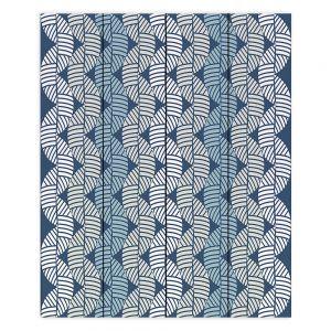 Decorative Wood Plank Wall Art   Julia Grifol - Waves On Blue