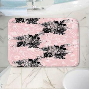 Decorative Bathroom Mats | Julie Ansbro - Baroque Bouquet