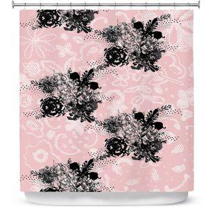 Premium Shower Curtains | Julie Ansbro - Baroque Boquet