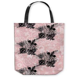 Unique Shoulder Bag Tote Bags | Julie Ansbro - Baroque Boquet