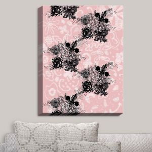 Decorative Canvas Wall Art   Julie Ansbro - Baroque Bouquet