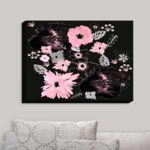 Decorative Canvas Wall Art | Julie Ansbro - Blackberry Lace II