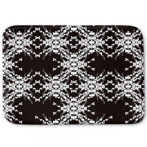 Decorative Bathroom Mats | Julie Ansbro - Blackberry Lace II