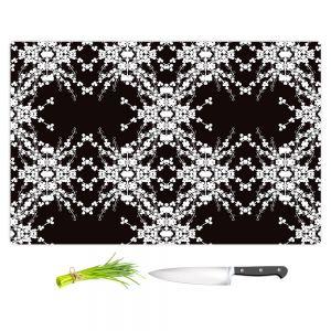 Artistic Kitchen Bar Cutting Boards | Julie Ansbro - Blackberry Lace II