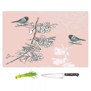 Artistic Kitchen Bar Cutting Boards | Julie Ansbro - Blue TIT Bird