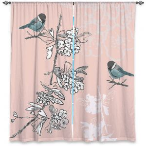 Decorative Window Treatments | Julie Ansbro - Blue TIT Bird