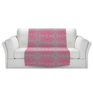 Artistic Sherpa Pile Blankets | Julie Ansbro - Delicate