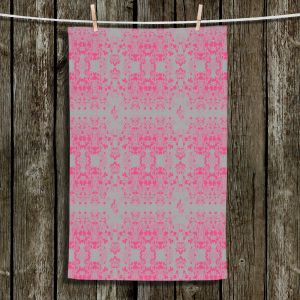 Unique Hanging Tea Towels | Julie Ansbro - Delicate | Abstract