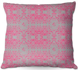 Decorative Outdoor Patio Pillow Cushion | Julie Ansbro - Delicate