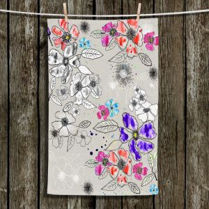 Unique Bathroom Towels | Julie Ansbro - Drawn Blossom