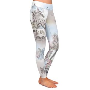 Casual Comfortable Leggings | Julie Ansbro - French Poodles