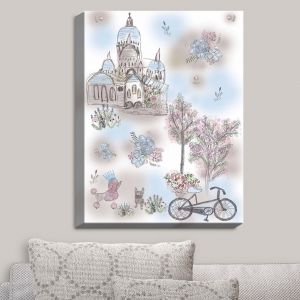 Decorative Canvas Wall Art | Julie Ansbro - French Poodles