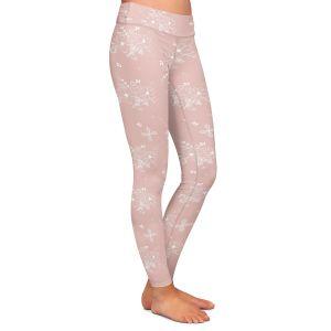 Casual Comfortable Leggings | Julie Ansbro - Lacy Bouquet I