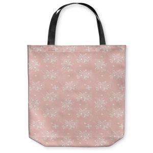 Unique Shoulder Bag Tote Bags  Julie Ansbro - Lacy Bouquet I