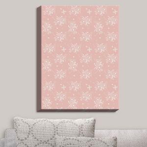 Decorative Canvas Wall Art | Julie Ansbro - Lacy Bouquet I | Flower Patterns