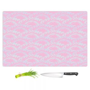 Artistic Kitchen Bar Cutting Boards | Julie Ansbro - Pink Lace