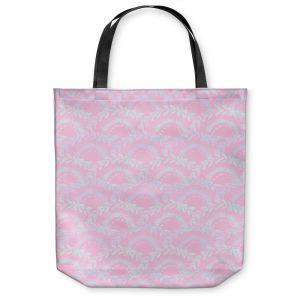Unique Shoulder Bag Tote Bags | Julie Ansbro - Pink Lace