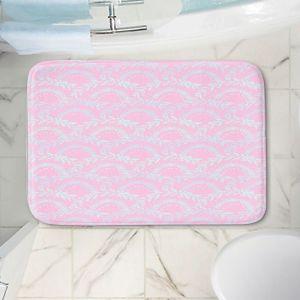 Decorative Bathroom Mats | Julie Ansbro - Pink Lace