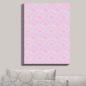 Decorative Canvas Wall Art | Julie Ansbro - Pink Lace