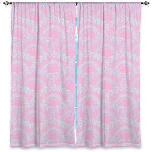 Decorative Window Treatments   Julie Ansbro - Pink Lace