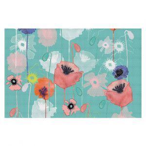 Decorative Floor Coverings | Julie Ansbro - Poppies Run