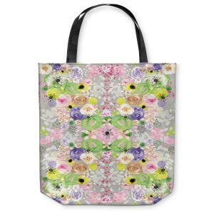 Unique Shoulder Bag Tote Bags  Julie Ansbro - Romantic Blooms Griege