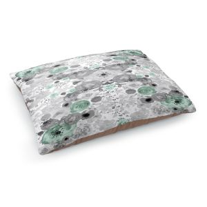Decorative Dog Pet Beds | Julie Ansbro - Romantic Blooms Mint