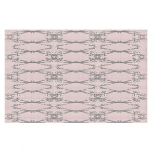 Decorative Floor Coverings | Julie Ansbro - Twigs Pink