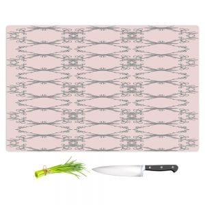 Artistic Kitchen Bar Cutting Boards | Julie Ansbro - Twigs Pink